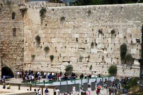 Wailing Wall in Jerusalem - Copyright David Virtser