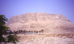 Masada - Photo taken by Grauesel